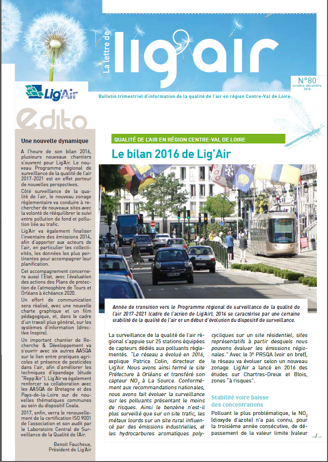 Bulletin 80 Lig'Air