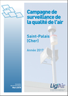 Parution rapport Evaluation qualité de l'air à Saint-Palais dans le Cher